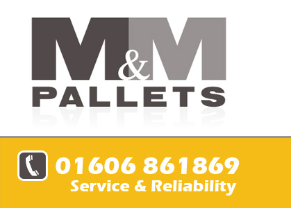 M and M pallets in Cheshire Logo